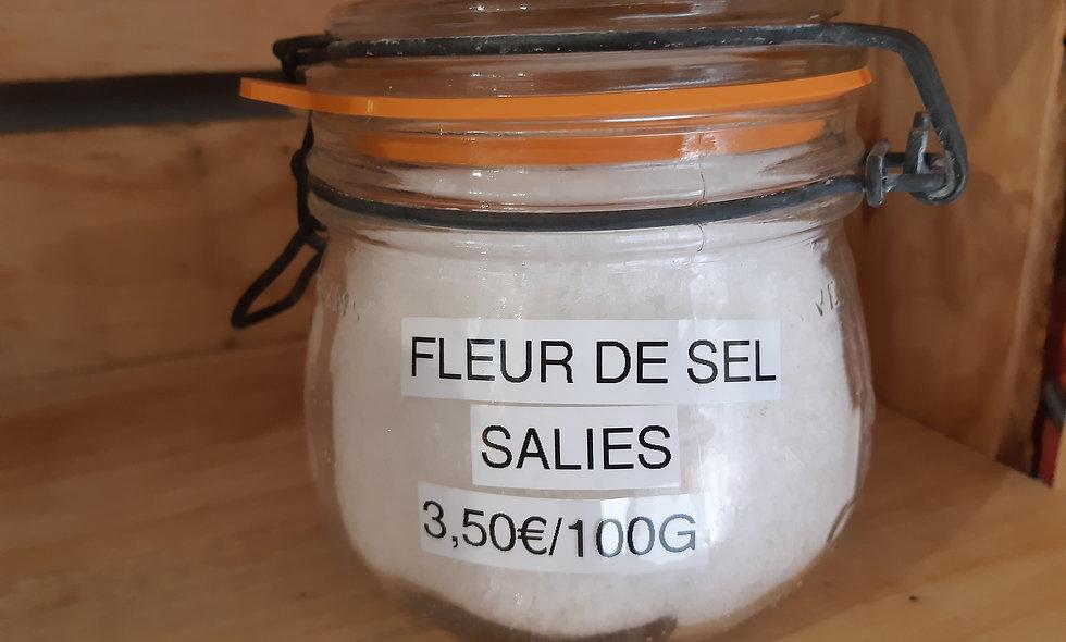 Fleur de sel de Salies 100g