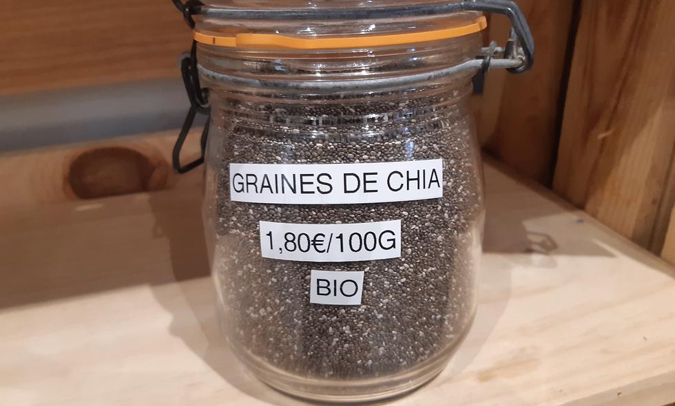 Graines de Chia Bio (100g)