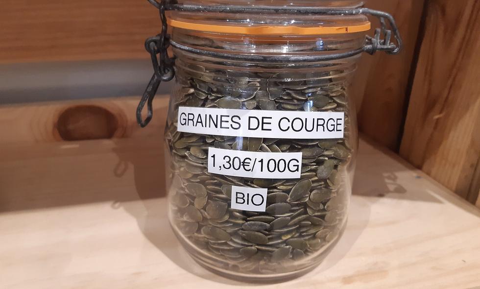 Graines de Courges Bio (100g)