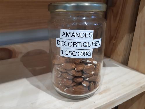 Amandes décortiquées (100g)