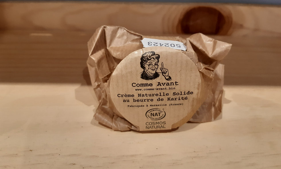 Crème naturelle au beurre de karité