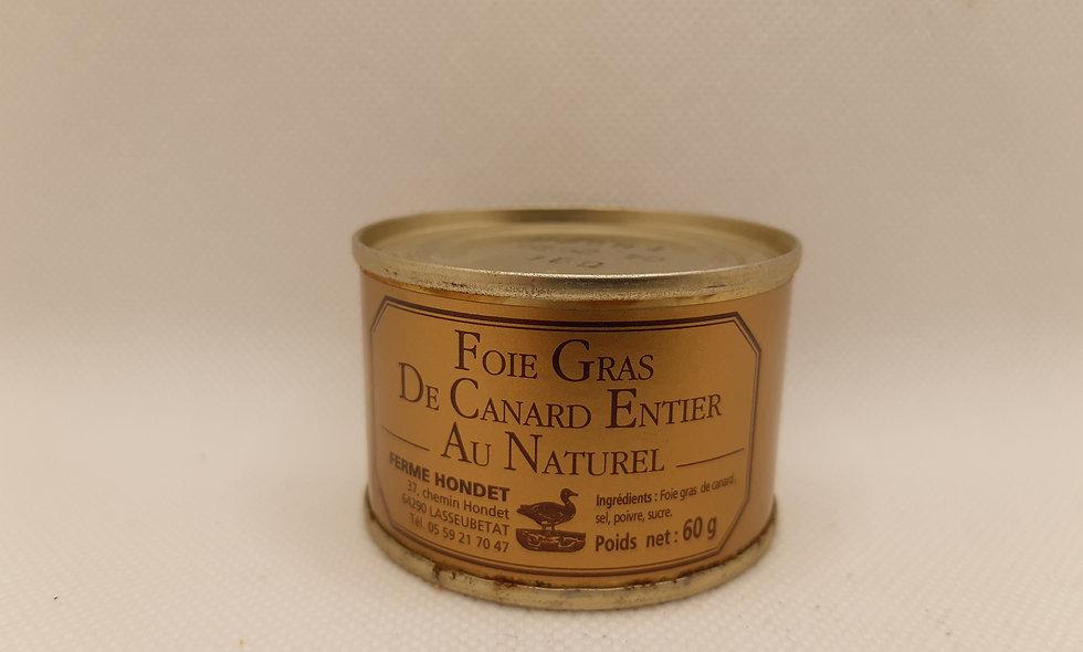 Foie gras de canard entier 60g