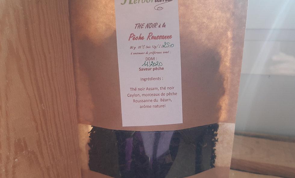 Thé noir à la pêche Roussanne (80g)