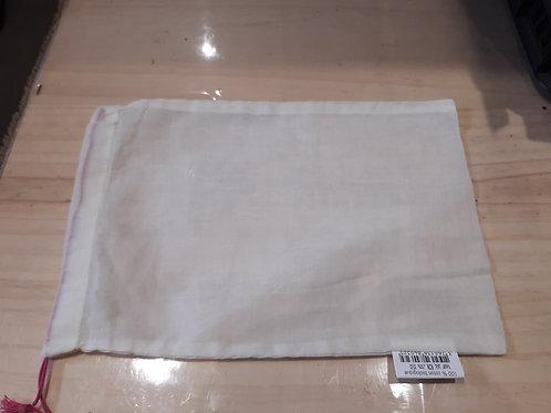 Pochon tissu taille S ou L (pièce)