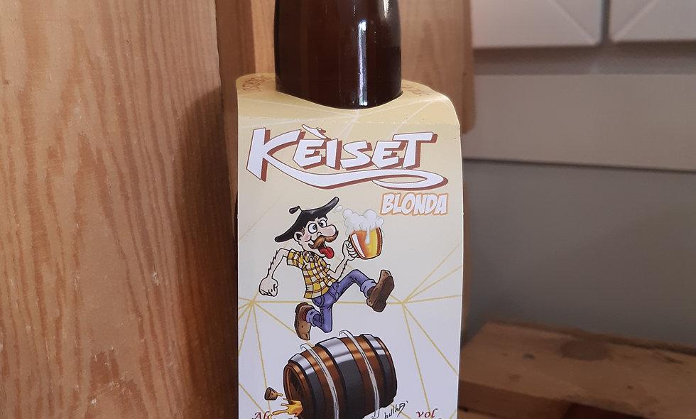 Bière Kèiset blonde 75cl