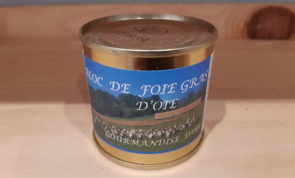Bloc de foie gras d'oie 100g