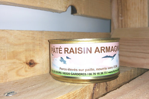 Pâté raisin Armagnac 180g