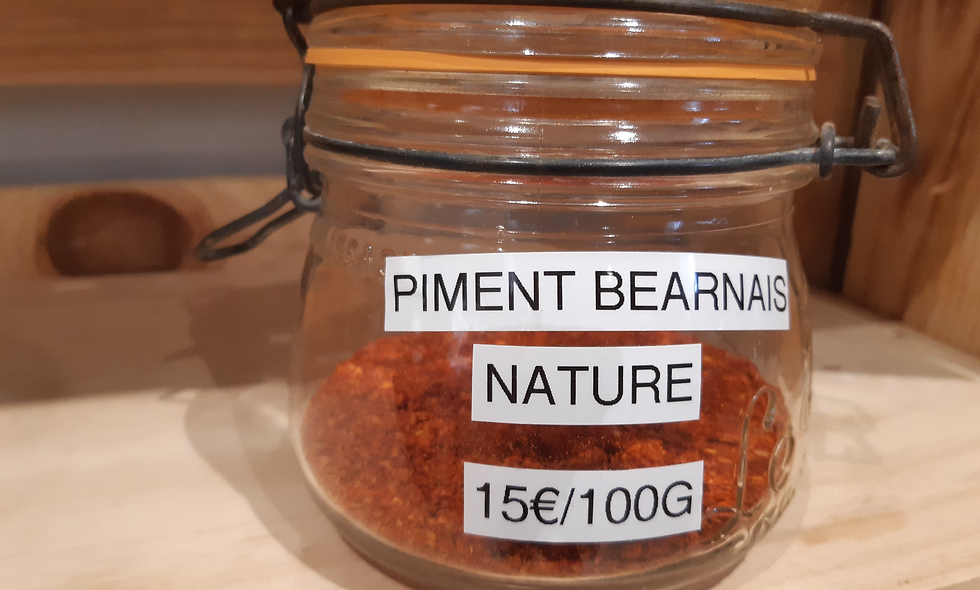 Piment du Béarn nature 20g
