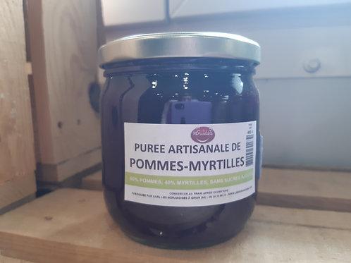 Purée Pommes Myrtilles (400g)