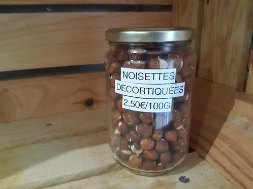 Noisettes décortiquées (100g)