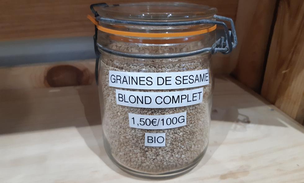 Graines de Sésame Bio (100g)