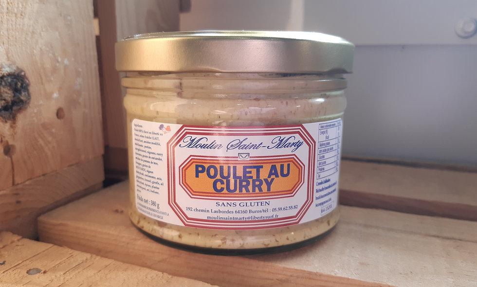 Poulet au curry (380g)
