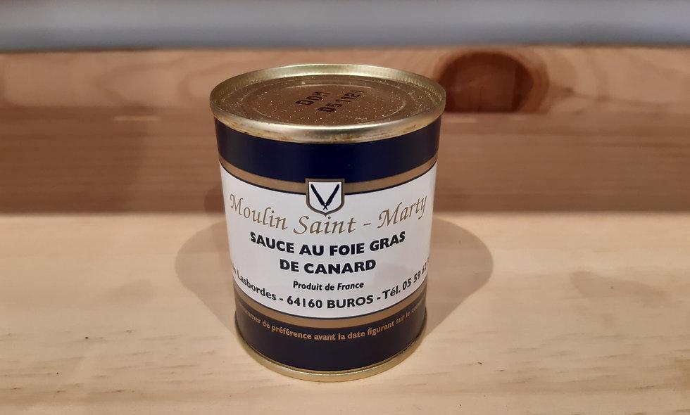 Sauce au foie gras 130g