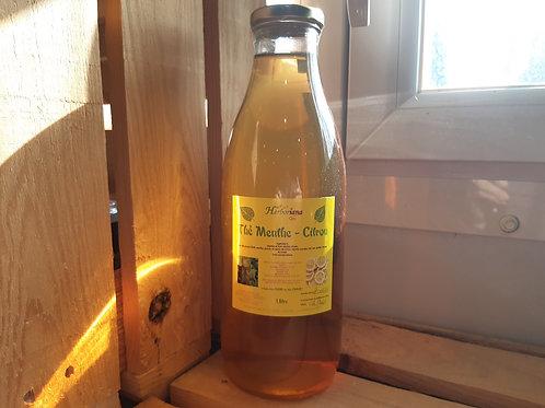 Boisson Menthe-Citron 1L