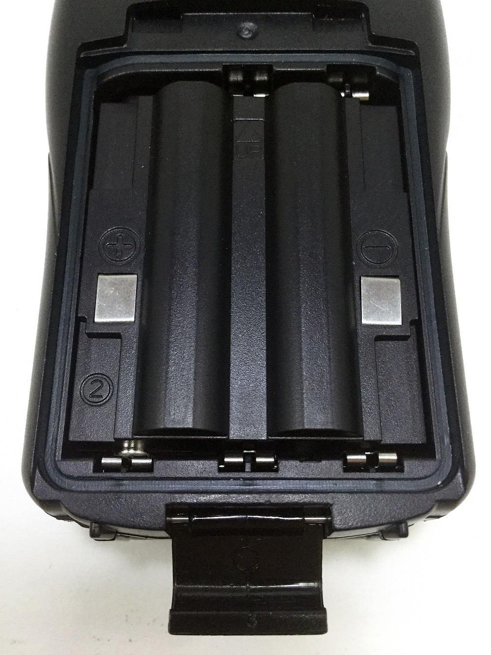 Midland GXT 1000 battery compartment