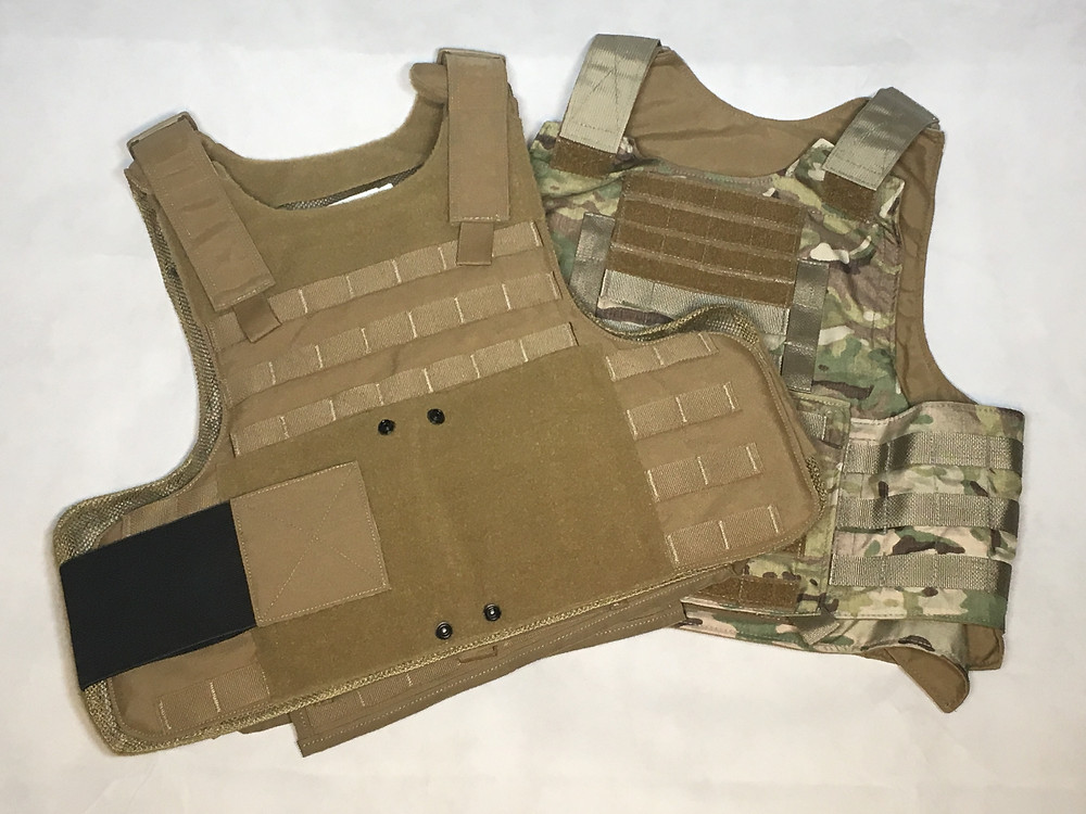 Survival Armor carrier and Beez Combat Systems BALCS MOLLE armor carrier.
