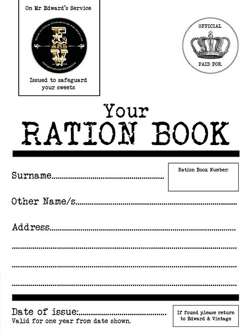 Ration Book Worth £17