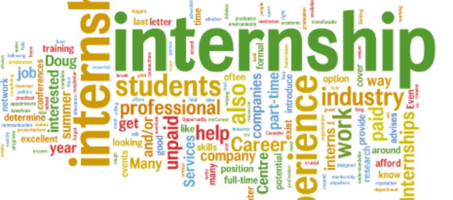 Summer Internships: The Latest