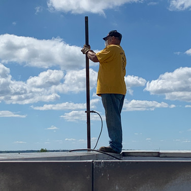 AA3WV, balancing on the edge