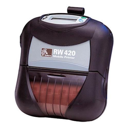 Мобильный принтер печати этикеток Zebra RW 420