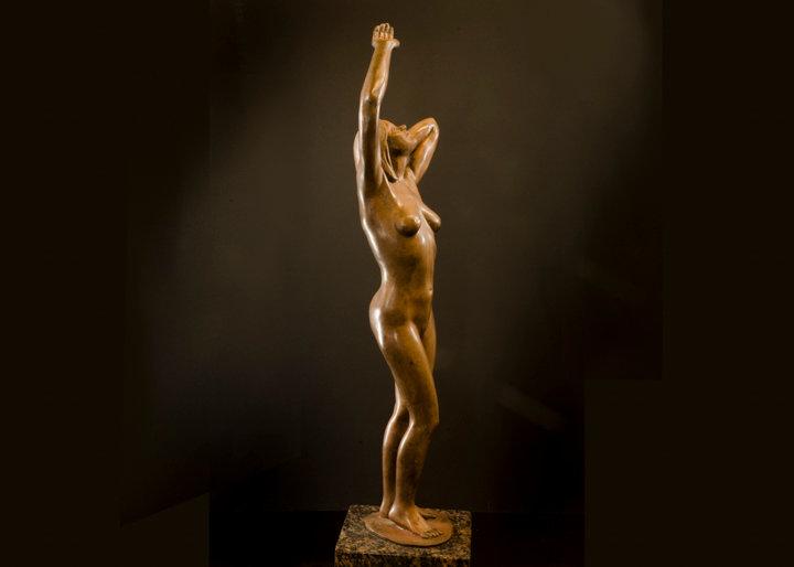 """The Mistress"" Bronze Sculpture | by Janice Trimpe"