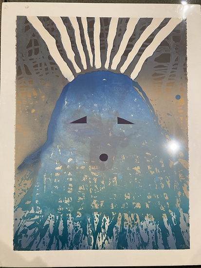 """""""Born of Water"""", 1980, Signed Lithograph 