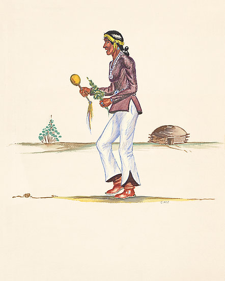 Navajo Medicine Man, Prints | by Chester Nez