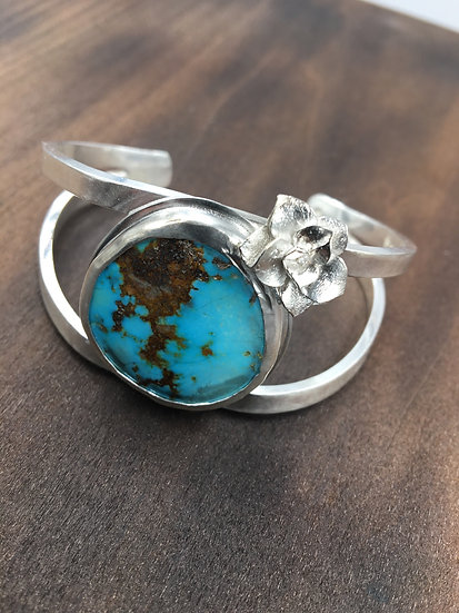 Double Turquoise Cuff | by Heather Bamberg