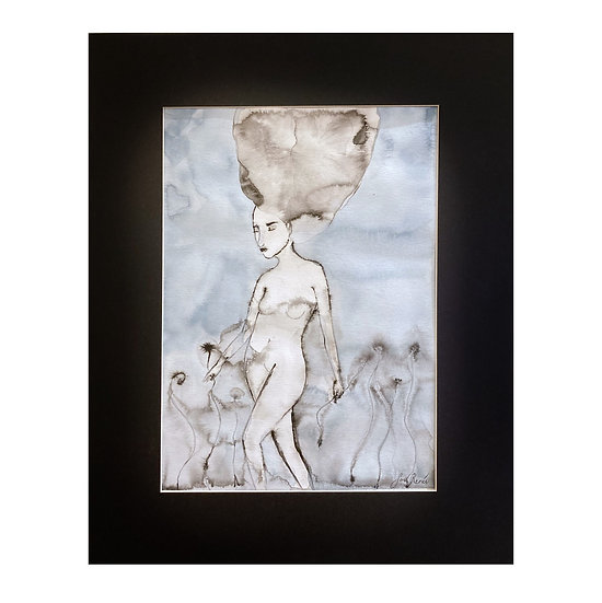 """The Gatherer""   by Savannah Renée"