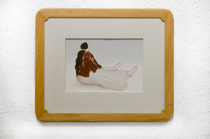 """""""Woman From Taos"""", 1983, by R.C. Gorman"""