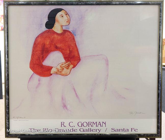 """La Dulce"", 1992 Signed POSTER by R.C. Gorman"