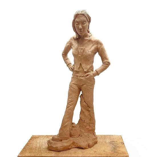 Standing Woman   by Laura Brzozowski