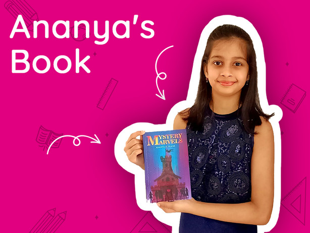 Ananya's Published a Book!