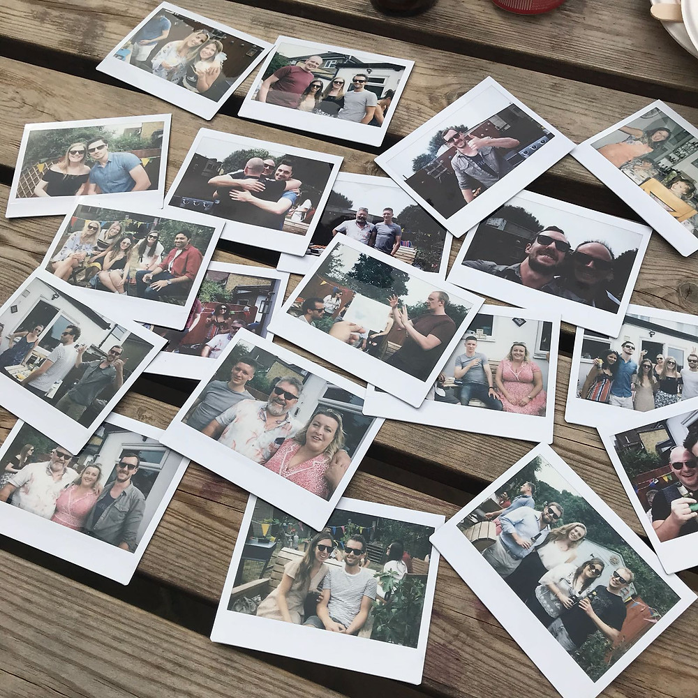 Polaroids from The Drunken Mouse Launch Party