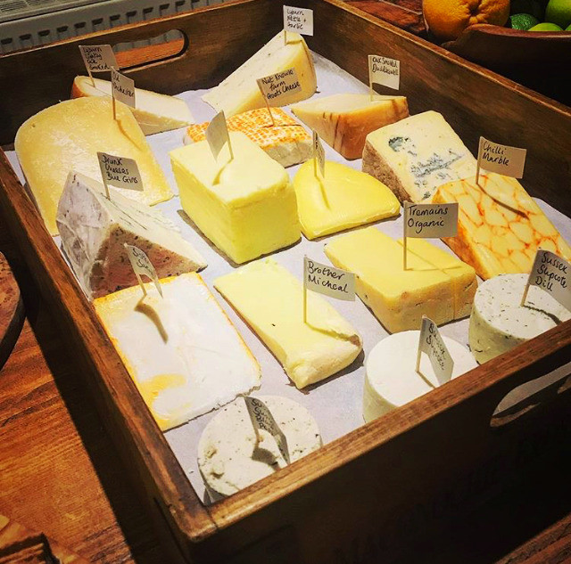 Surrey and Sussex Cheeses