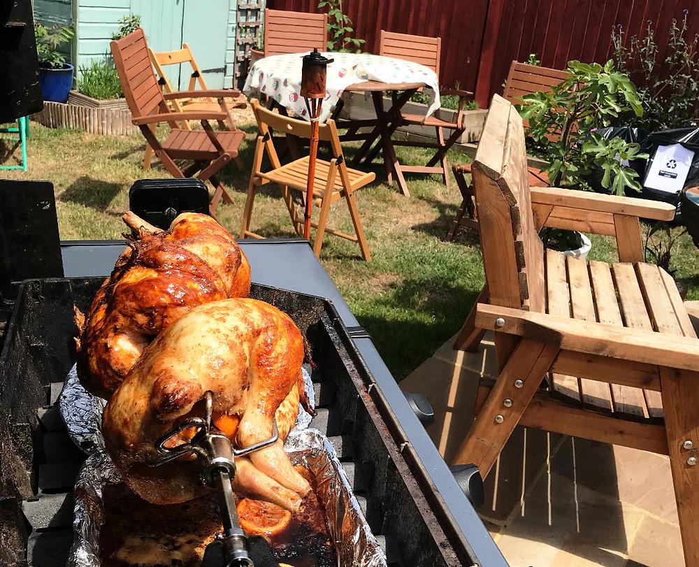 Spit Roast Chicken