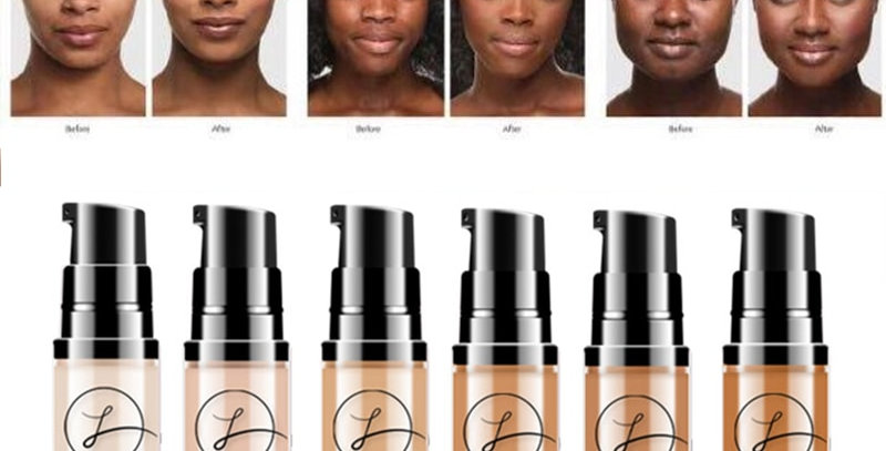 Full Coverage Waterproof Colour Changing Soft Matte Liquid Foundation