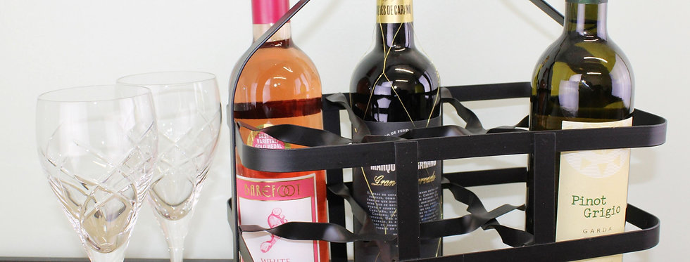 Six Bottle Wine Holder or Carrier