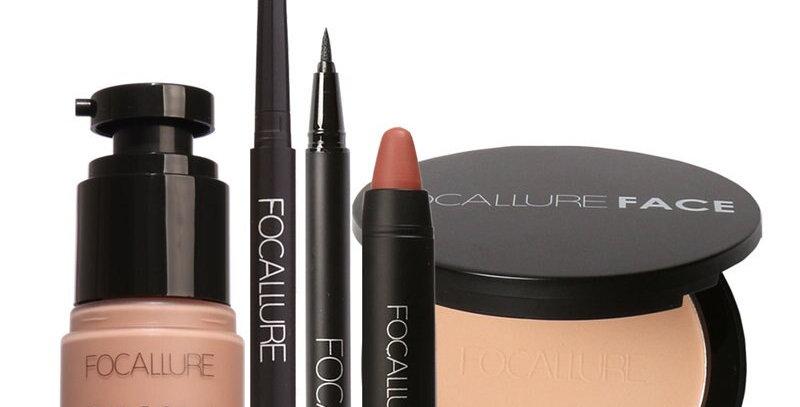 EbonyCoverings | FOCALLURE 5Pcs Makeup Gift Set