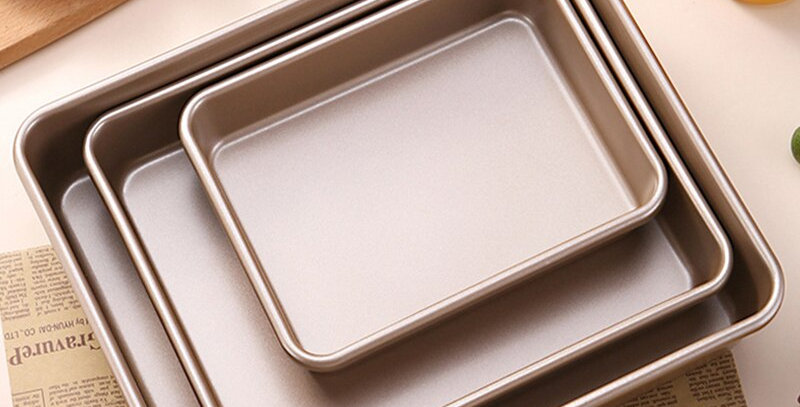 EbonyCoverings | Rectangular Baking Tray Nonstick