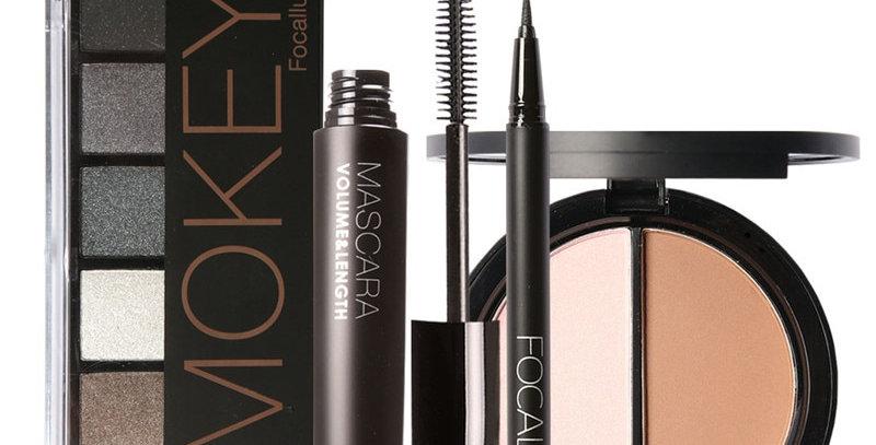 EbonyCoverings | FOCALLURE  4pc Makeup Kit