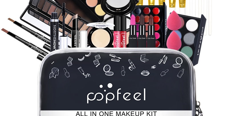 Professional Makeup Set with storage bag
