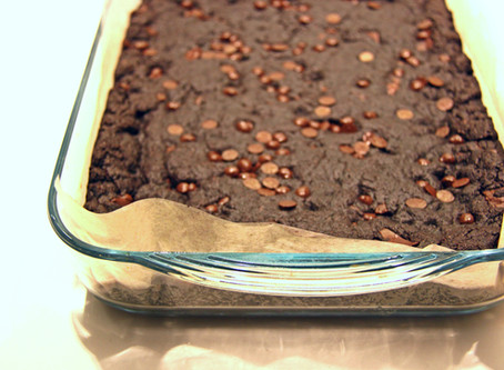 בראוניז קקאו ושוקולד ~או~ Double Chocolate Cookie Bars