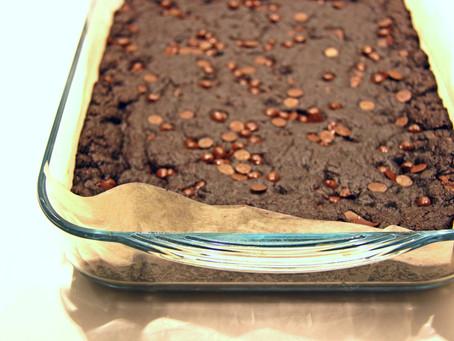 בראוניז קקאו ושוקולד ~או~ Double Chocolate Cookie Bars