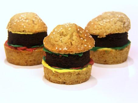 קאפקייקס המבורגר – הקאפקייקס שהתחפשו לכבוד פורים