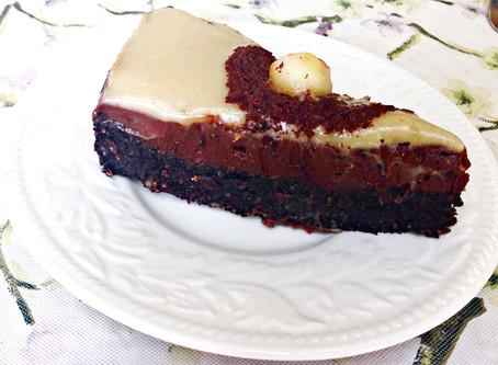 עוגת שוקולד-חלבה כשרה לפסח (ללא אפייה!)
