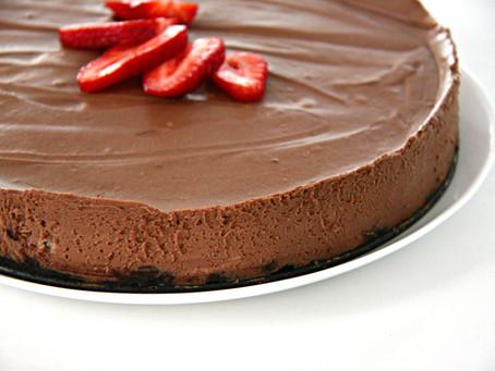 עוגת מוס שוקולד קלה להכנה (כשר לפסח וללא גלוטן!)