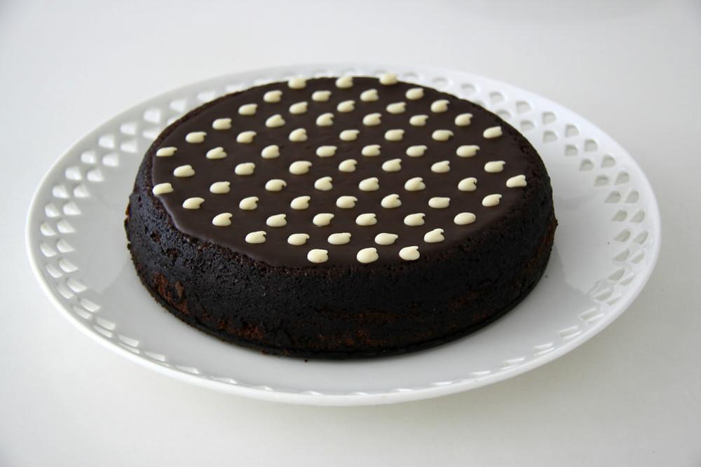 עוגה מדהימה עם שכבה אחת בלבד :)