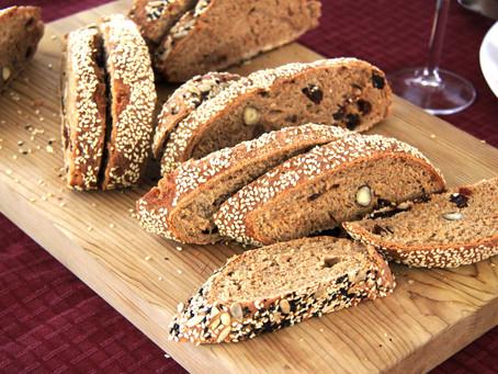 לחם מחיטה מלאה (קל להכנה)