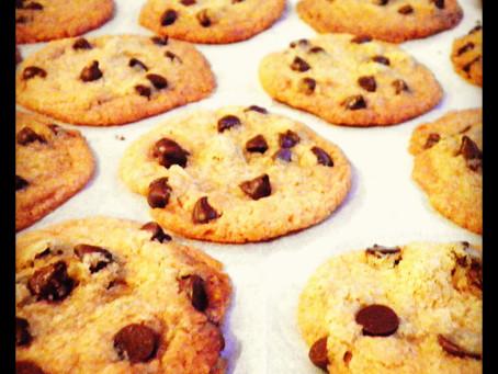 עוגיות שוקולד צ'יפס טבעוניות ופריכות